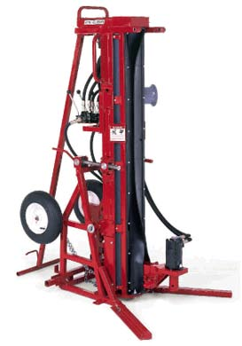 Beaver auger drill rig